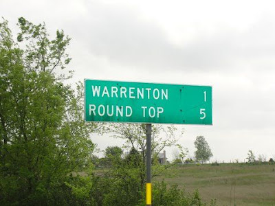 Warrenton, Texas sign