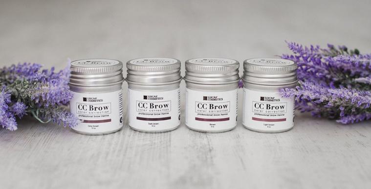 Хна для бровей и ресниц CC Brow от Lucas' Cosmetics — Продукция — Торговый  дом Восток