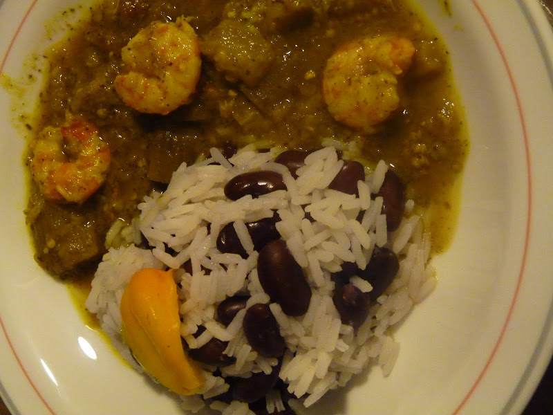 Semaine Guyanaise: Colombo de crevettes