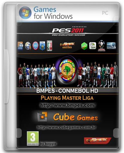 PES 2011: Patch BMPES CONMEBOL 1.0 + 2.0 pes2011 bmpes