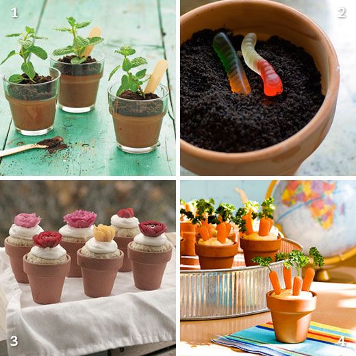 Chickabug & Flowerpot desserts (and one bonus healthy snack) | Chickabug