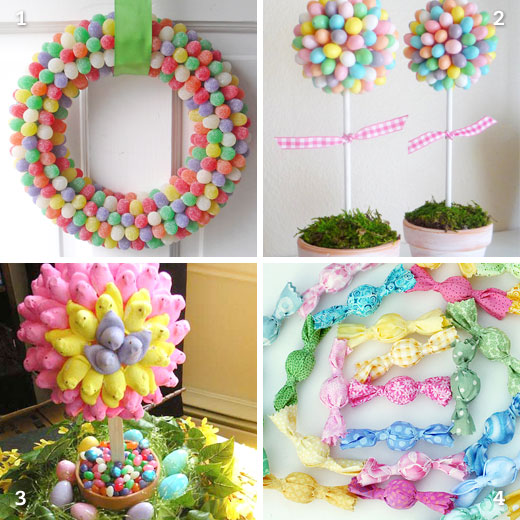 DIY Easter candy decorations | Chickabug