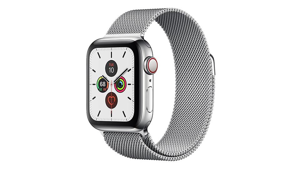 thiết kế Apple Watch Series 5 Cellular 40mm viền thép dây Milanese