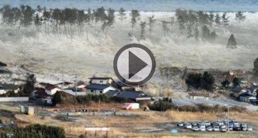 Special Tsunami Au Japon PLAY Poster un article sur EVO