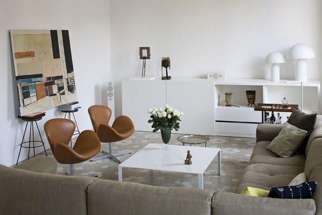 Mi casa vivienda en el eixample de barcelona for Departamento moderno decoracion