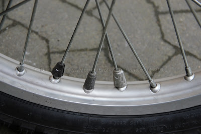 50g of lead added to front wheel