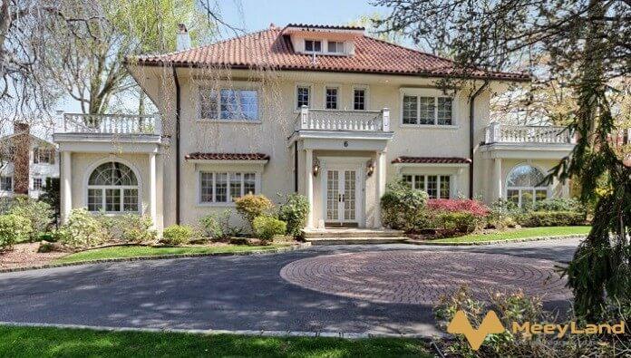 nhà đẹp phong cách cổ điển