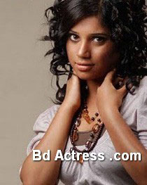 Bangladeshi Model Nova style hair