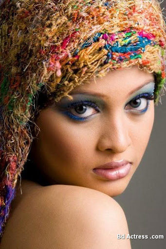 Bangladeshi Model Sarika face