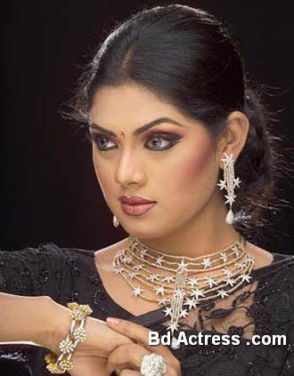 Bangladeshi Model Tisha beauty face
