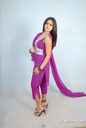 Pakistani Model Mahak pink dress