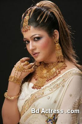 Bangladeshi Model Badhon picture