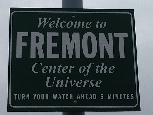 Welcome to Fremont Sign, Seattle, Washington
