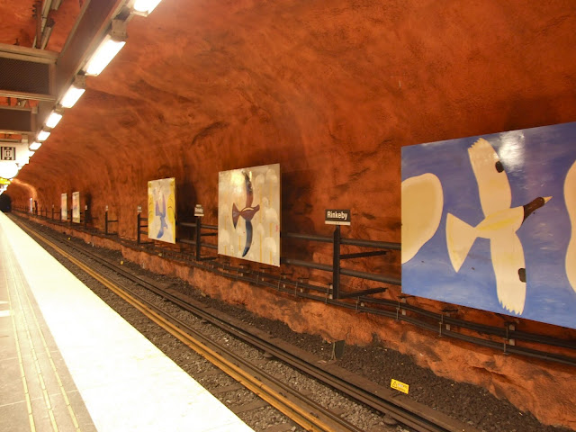 Метро Стокгольма. Часть вторая