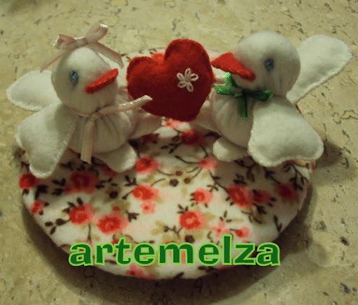 artemelza - passarinho apaixonado
