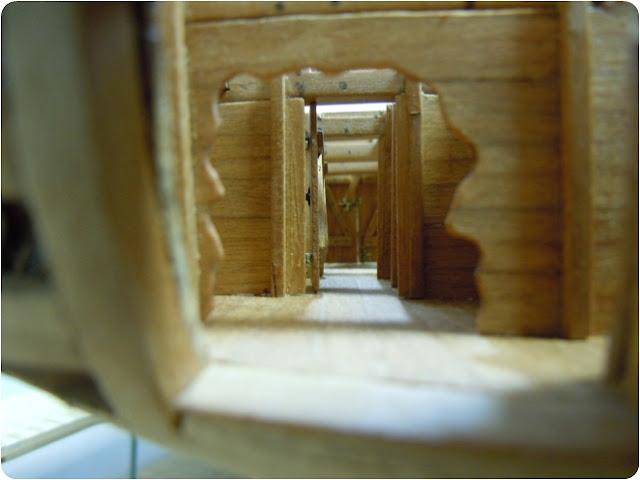 """Modèle du """"Gros-Ventre"""" au 1/36 par Adrian Sorolla GV1105040"""