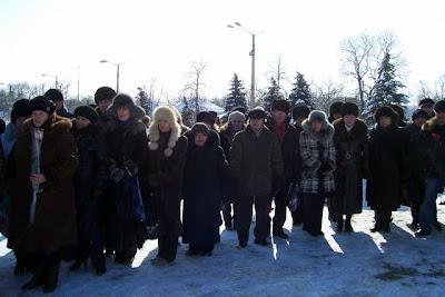 Митинг памяти воинам-интернацоналистам - 2011