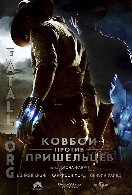 Ковбои против Пришельцев (2011) трейлер OnLine