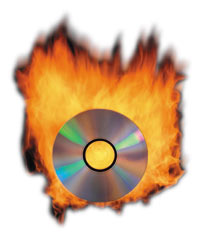 With Burn you can burn four kind of video disks. VCD, SVCD, DVD and DivX disks.