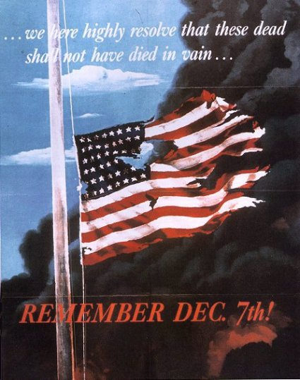 """....December 7th, 1941 — a date which will live in infamy..."""