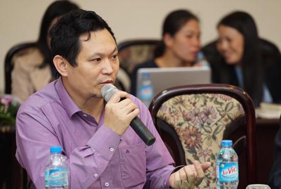 Ông Lưu Hải Minh, Chủ tịch HĐQT Công ty CP Công nghệ mới Nhật Hải.
