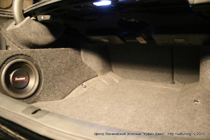 Установка усилителя на Honda Accord