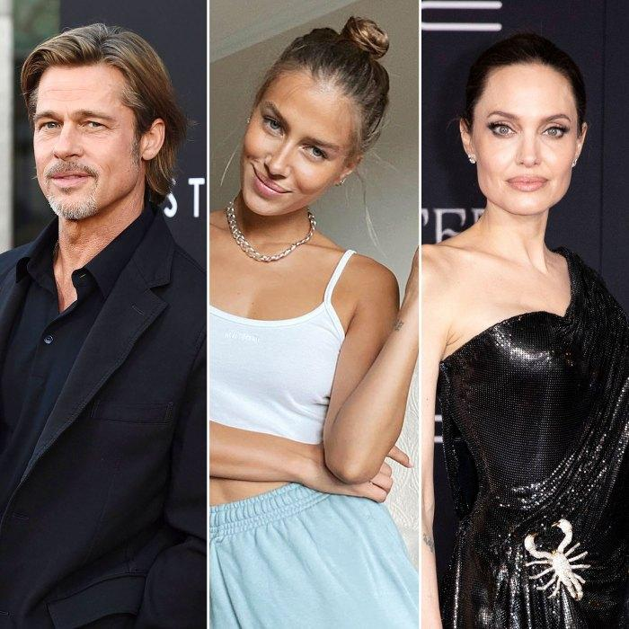 Brad Pitt S New Girlfriend Is Married Who Is Nicole Poturalski Yourgzee