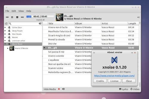 Xnoise 0.1.20