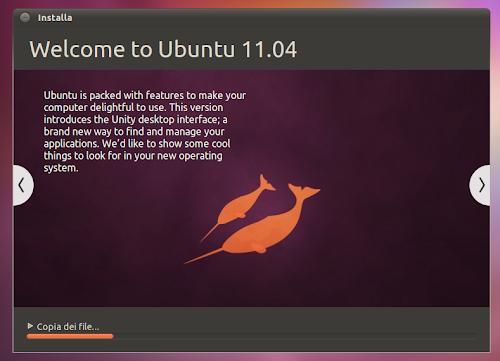 scaricare Ubuntu 11.04 Natty Narwhal