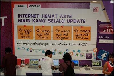 Internet pake AXIS