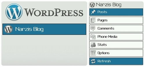 WordPress Untuk BlackBerry