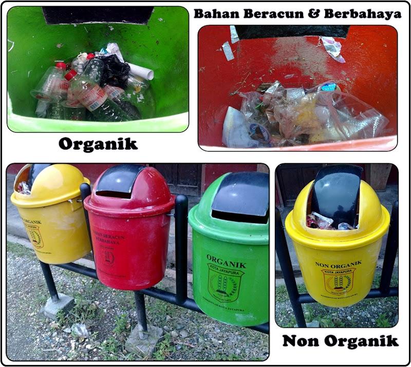 Tong Sampah Organik, Non Organik dan B3