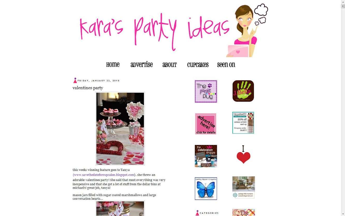 Featured at Kara's Party Ideas!