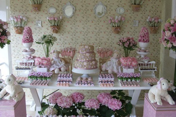 Gorgeous Subtle Dessert Table