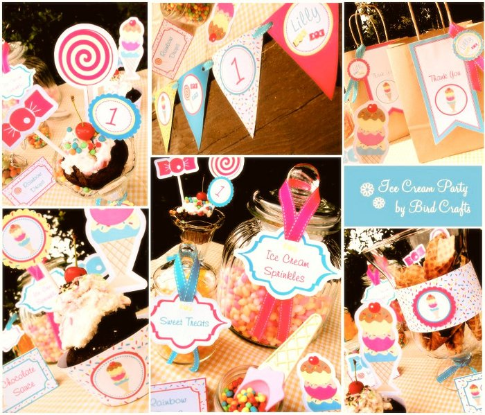 Vintage Ice Cream & Candy Party