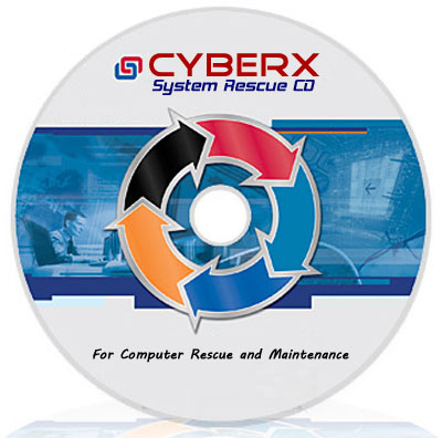 CyberX Rescue System CD - Bootable (April/2011)