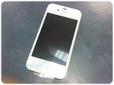 iPhone 4 สีขาว