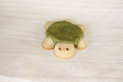 photo of a sugar cookie turtle