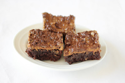 photo of brownies on a plate