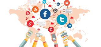 An illustration on social media marketing