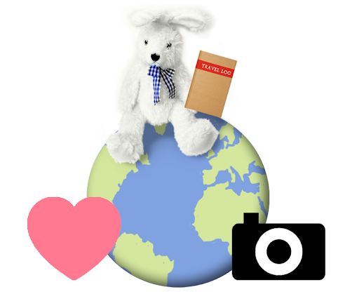 Mail It Forward, Simon the travel bunny