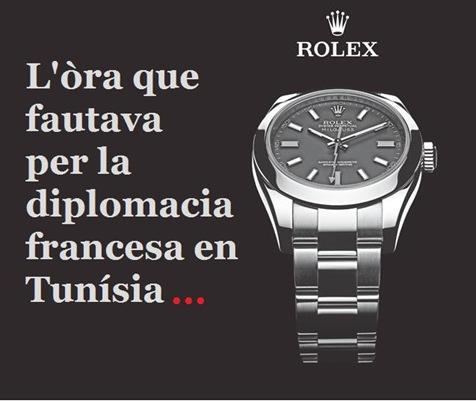 rolex tunísia