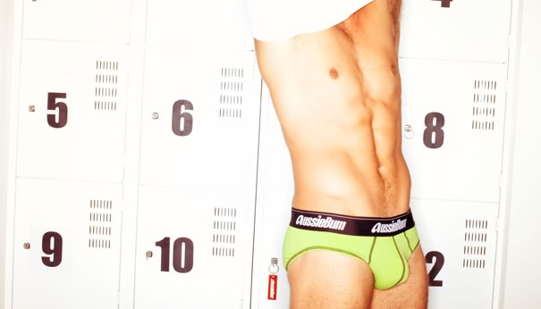 Locker Rooms Have Never Been Sexier with aussiebum