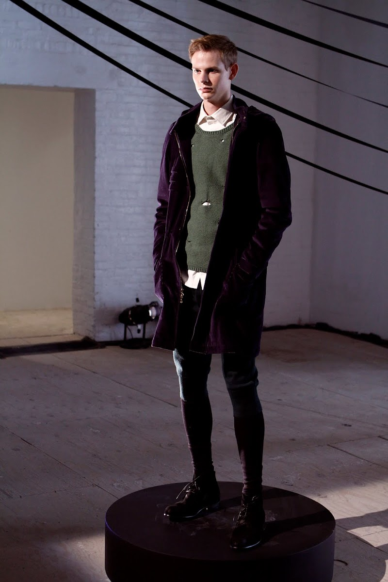 """The Age of Innocence"" Meets ""Gangs of New York"" with Timo Weiland [men's fashion]"