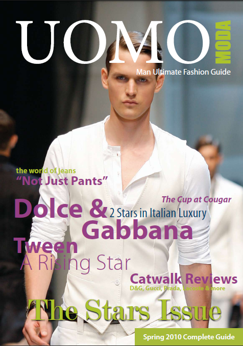 "Uomo Moda Spring 2016: ""The All-Star Issue"""