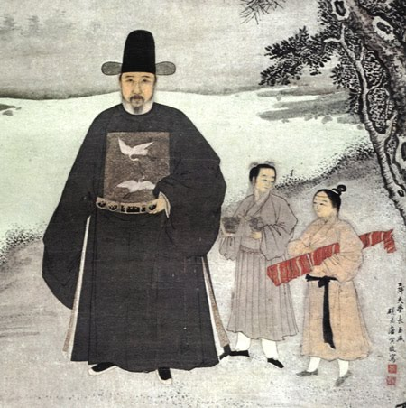 Focus on China—From Ming to Qing [men's fashion]