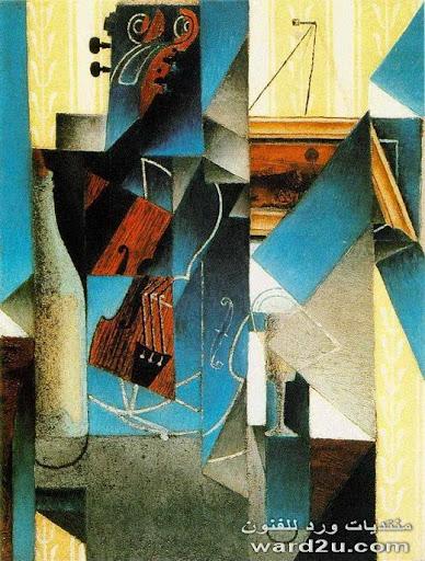 لوحات الرسام الاسباني خوان غريس