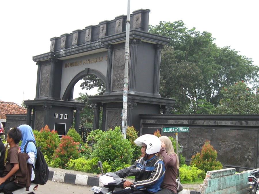 Monumen Pancasila Sakti Lubang Buaya Indonesia