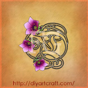 D con violette