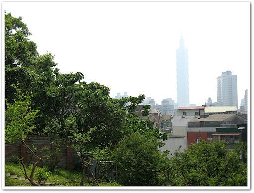 不遠處的 101 大樓